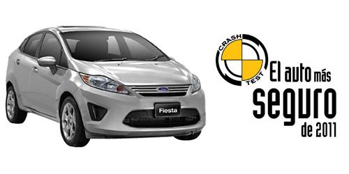 Ford Fiesta KD, Auto de Oro en los premios el Auto Más Seguro 2011 entregados por CESVI Argentina.