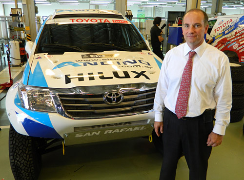 Eduardo Kronberg, Gerente de Relaciones Públicas de Toyota Argentina