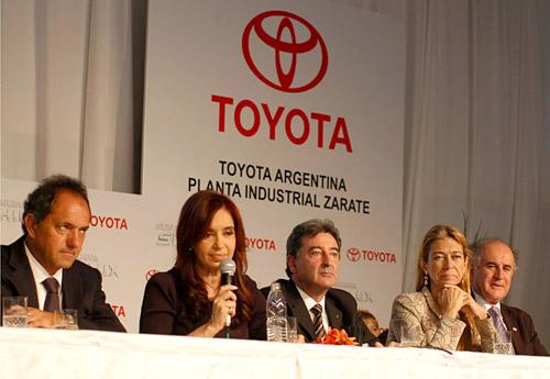 Toyota amplió la capacidad de producción de su Planta de Zárate