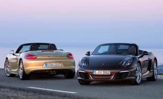 Porsche Boxster y Boxster S.