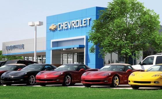 Concesionario Chevrolet en EE.UU.