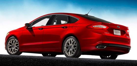 Nuevo Ford Fusion / Mondeo 2013.