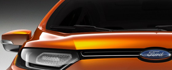 Teaser de la Ford EcoSport 2013