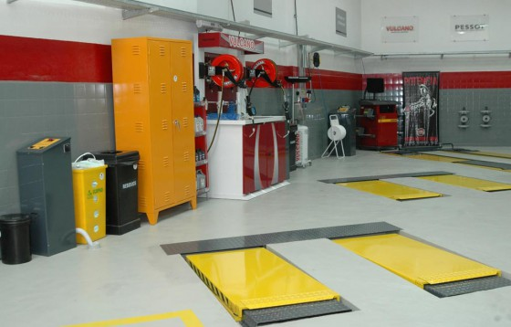Centro de Entrenamiento Técnico de Fiat Auto Argentina.