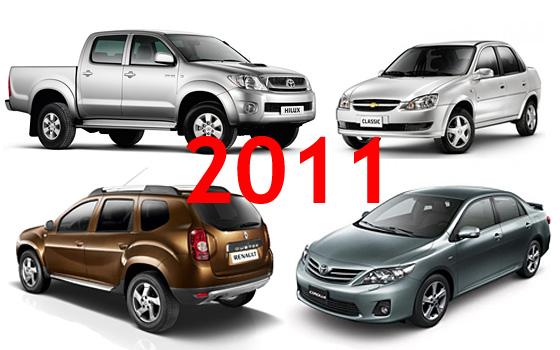 Patentamientos 2011: los líderes