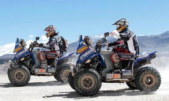 1-2 de los Patronelli en el Dakar 2012.