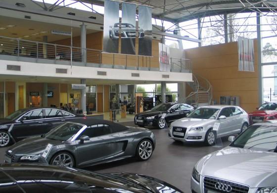 Concesionario Audi Zentrum en Pilar.