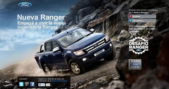 Experiencia Nueva Ford Ranger
