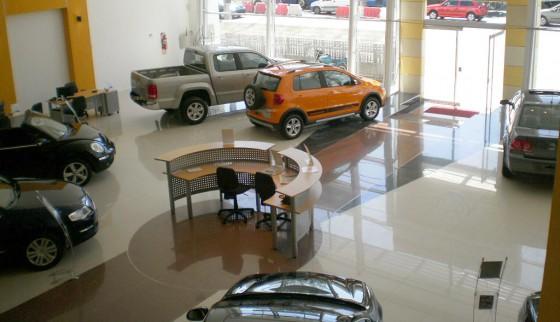 Concesionario de la red VW de Argentina.