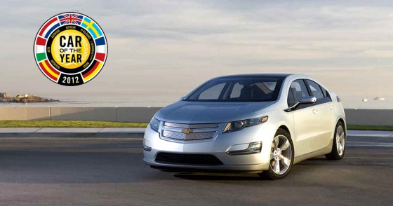 El Chevrolet Volt se quedó con el Car of the Year 2012