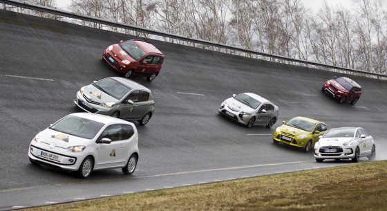 Finalistas del Car of the Year 2012