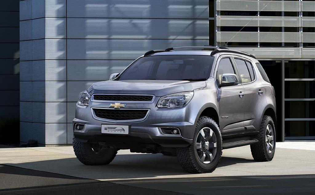 La nueva Chevrolet Blazer debutó en Tailandia; llegaría en 2013 a ...