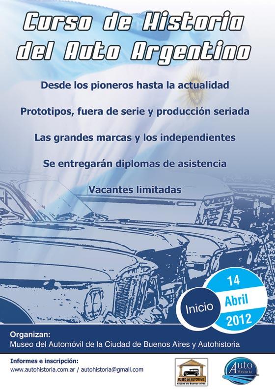 Curso de historia del auto argentino 2012