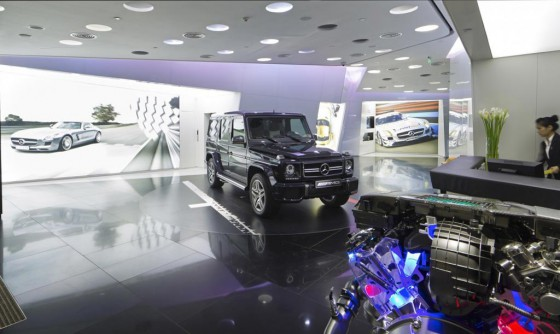 El primer concesionario exclusivo de AMG inauguró en China