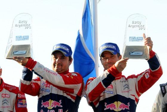 Rally Argentina 2012: Loeb lo hizo de nuevo y Citroën celebró por octava vez