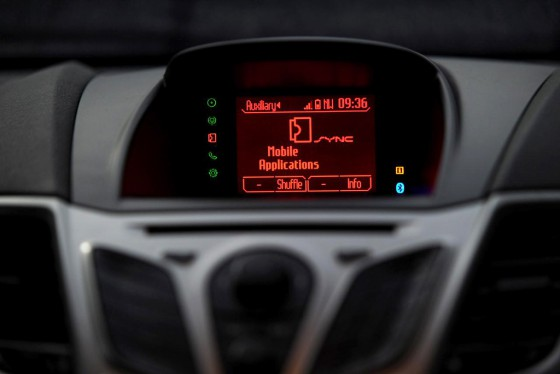 Sistema de conectividad SYNC de Ford.