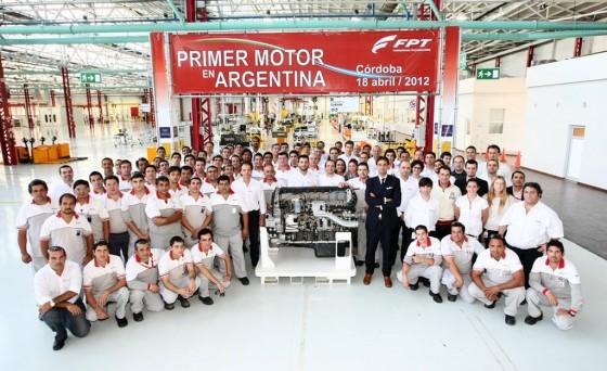 Como en los años 50, Fiat ya fabrica grandes motores en Córdoba