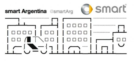 smart Argentina debutó en Twitter con un stop motion en 140 caracteres