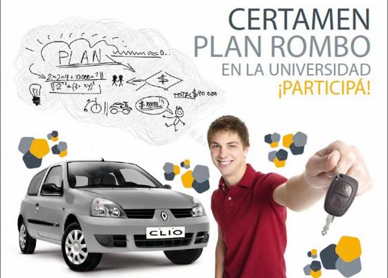 Renault Argentina busca ideas jóvenes para el Plan Rombo