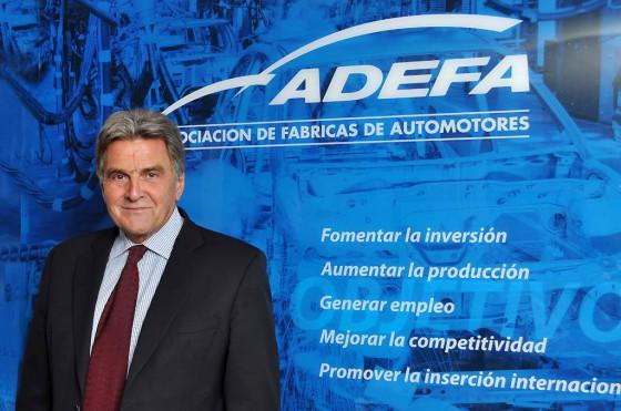 Viktor Klima, titular de la Asociación de Fábricas de Automotores (Adefa).