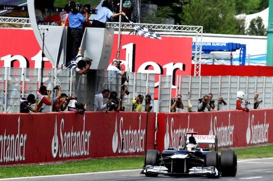 Pastor Maldonado, el primer venezolando en ganar en la Fórmula 1