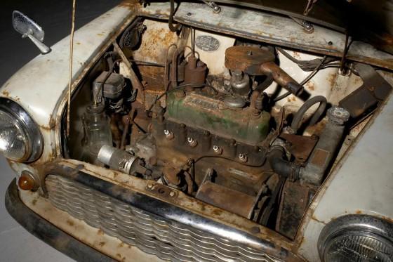Subastaron el MINI sin restaurar más antiguo del mundo: pagaron u$s 65.500