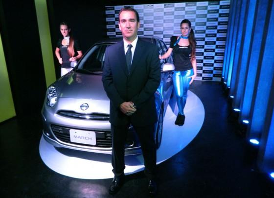 Omar Daneri, Director General de Nissan Argentina - Foto: Cosas de Autos