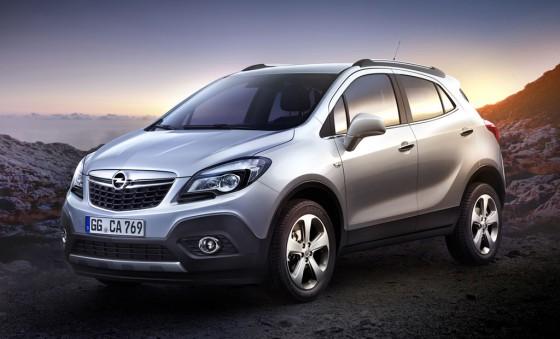 Opel Mokka, la prima-hermana de la Chevrolet Enjoy.