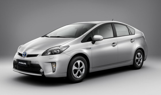 Toyota Prius línea 2012