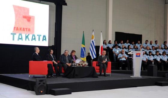 Takata inauguró una planta de producción de airbags en Uruguay