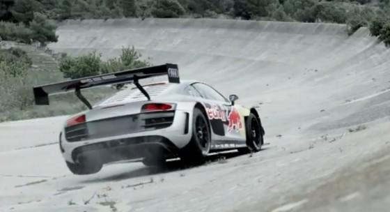 Carlos Sainz quebró el récord del olvidado óvalo de Terramar con Audi R8 LMS