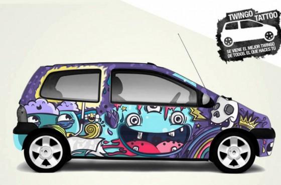 Serie limitada Renault Twingo Tattoo 2013.