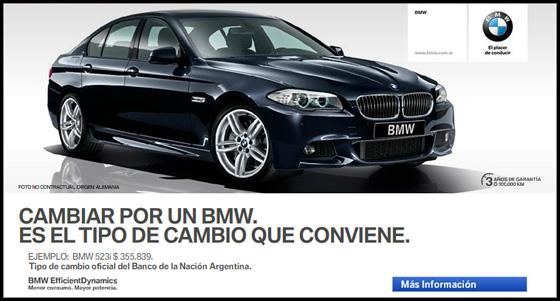 BMW pesificó su lista de precios