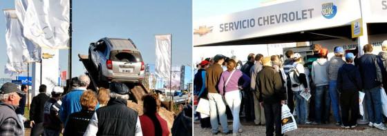 Stand de Chevrolet en Agroactiva 2011