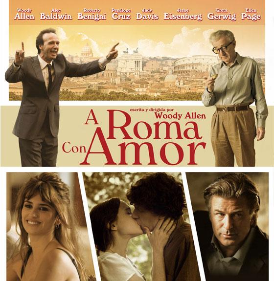 """Fiat, presente en la avant-première de """"A Roma con amor"""" de Woody Allen"""