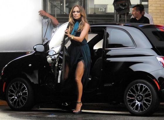 Fiat acompaña a Jennifer López en su paso por Argentina