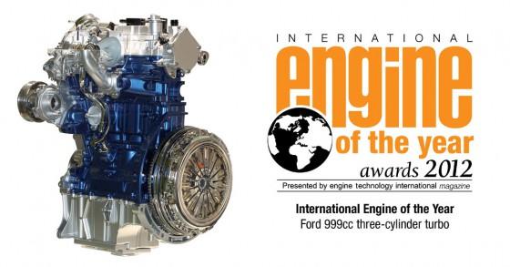 El Ford Ecoboost 1.0 fue elegido por la prensa como Motor Internacional del Año