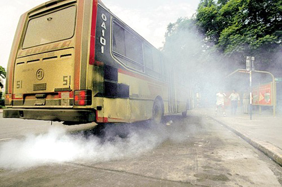 Según la OMS, los gases de los motores diesel son cancerígenos