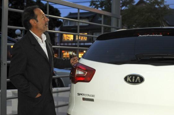 Argentina: la gama Kia seguida de cerca por las celebrities