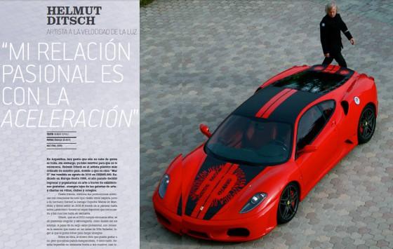 Helmut Ditsch muestra por primera vez su súper auto de Le Mans