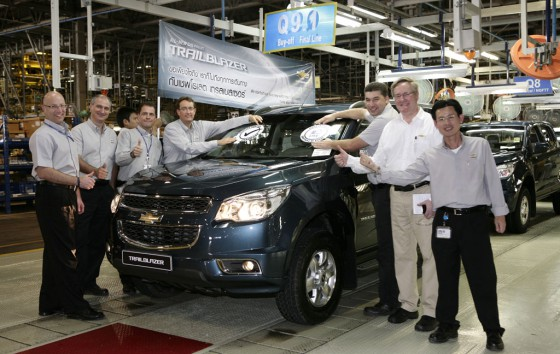 La nueva Chevrolet Blazer ya se fabrica en Tailandia