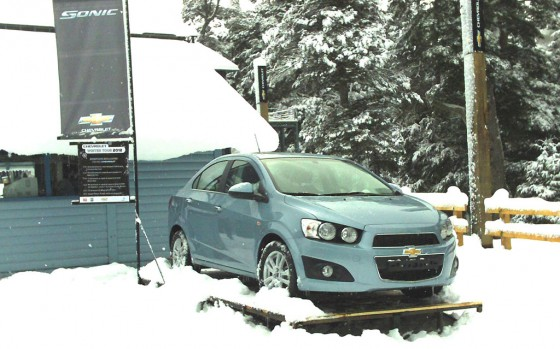 Chevrolet está presente Las Leñas y La Angostura