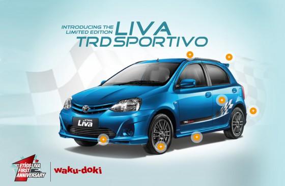 Toyota Etios Liva TRD Sportivo Limited Edition.