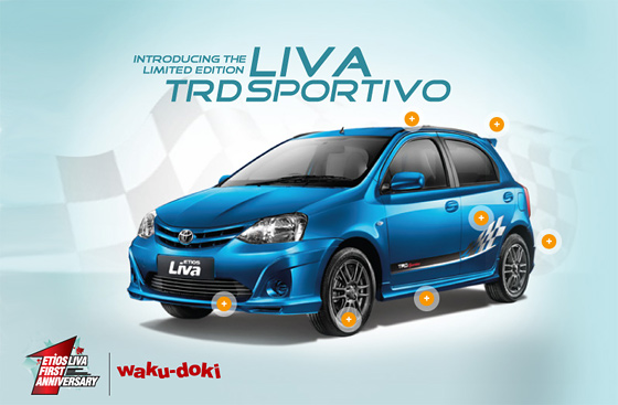 Etios Liva TRD Sportivo Limited Edition.