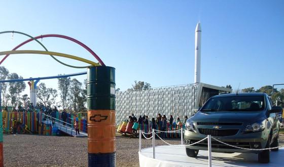Stand de GM en Tecnópolis 2012