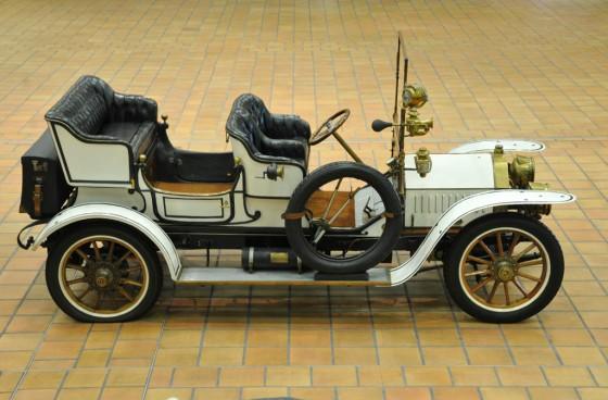 Este Berliet Type C2 de 1907 es el más veterano de la colección monegasca.