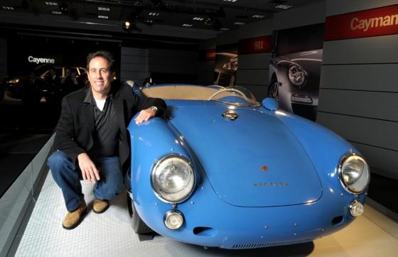 Jerry Seinfeld y su amor por los Porsche