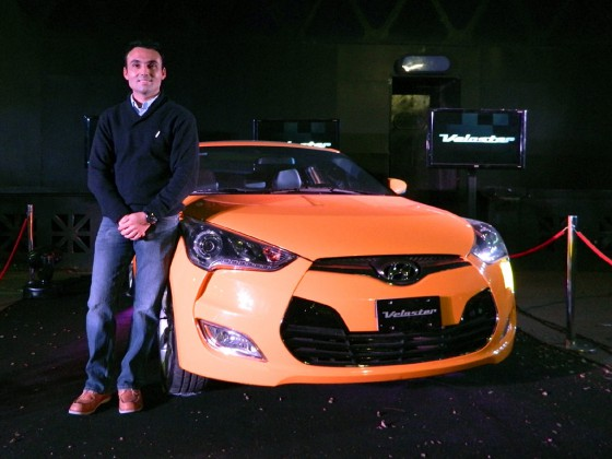 Arturo Ramírez, responsable de marketing de Hyundai Argentina.