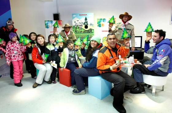 Honda Argentina y su programa de reforestación de bosques patagónicos