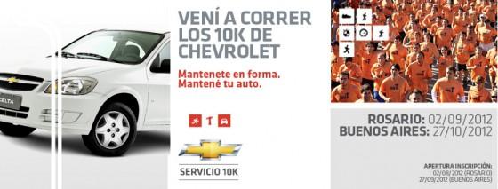 Atención Rosario: se viene una nueva Carrera de Servicio Chevrolet 10K